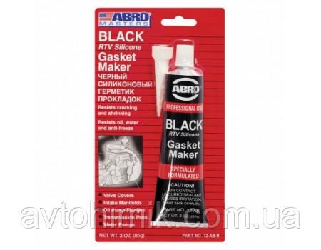 ABRO Герметик прокладок  стандартный (черный) 12-AB CH 0.085л.