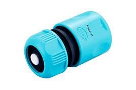 Конектор Presto-PS для шлангу 1/2-5/8 дюйма з аквастопом (7729)