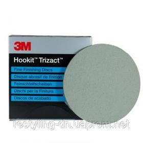 3M™ 50414 Супертонкие абразивные диски Trizact 443 SA Hookit, диам.150 мм, Р3000
