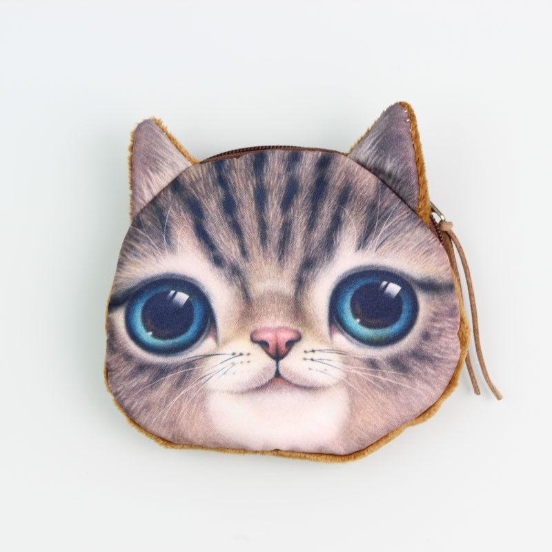 Кошелек Милый кот 077