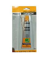 Клей Pasco CS-001 силикон универсальный 30 мл. 12 шт. / Уп