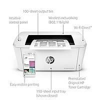 Принтер HP Laser Jet Pro M15w (W2G51A), Wi-Fi