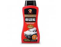 Bullsone First Class High Gloss Wax Силиконовый воск для защиты и блеска кузова (Корея) 500 мл