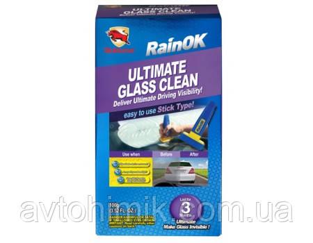 Bullsone RainOk Ultimate Clean Glass Глибокий очисник стекол (8 обробок) (Корея) 100 мл