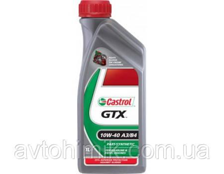 Castrol GTX 10W-40 A3/B4, 1л