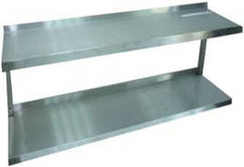 Полка кухонная двухуровневая ПК2 (1000х300 см)