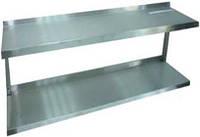Полка кухонная двухуровневая для сушки ПК5 (1000х325 см)