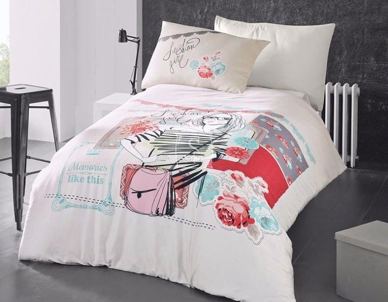 Комплект постельного белья   для девочек Модница