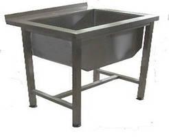 Ванна мийна зварна без полиці з 1 секцією ВМС1 (H=350мм) (700х700 см)