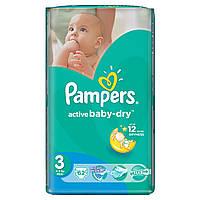 Подгузники PAMPERS Active Baby Midi (4-9 кг) Эконом 62шт