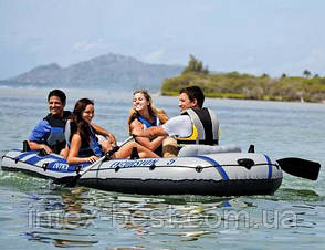 Надувная лодка Excursion (5 человек) 5 Set Intex 68325 (366х168х43 см), фото 2