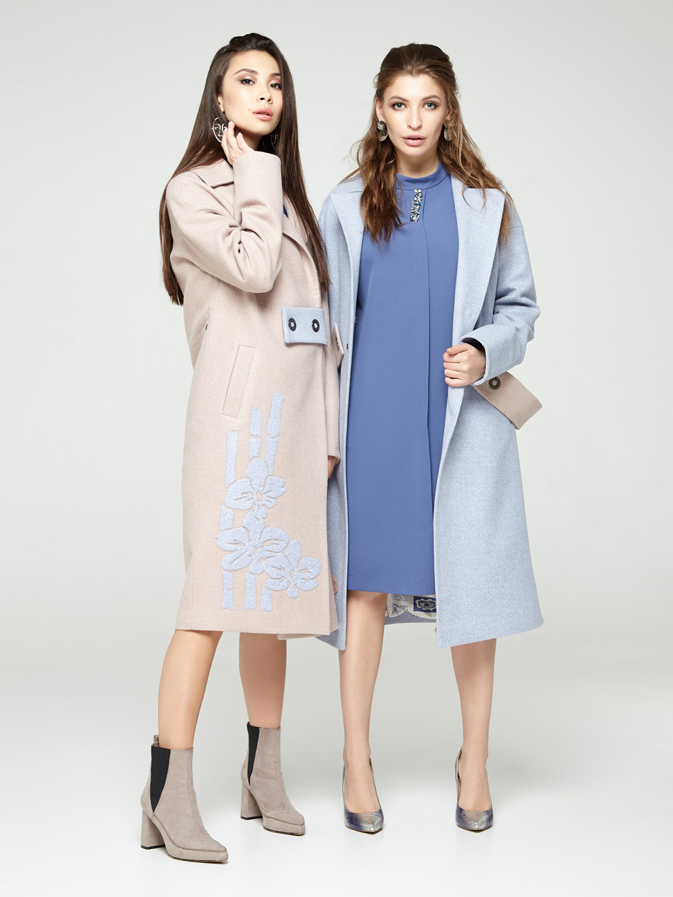 2307 платье Гретта, джинс (L)