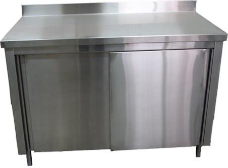 Стіл виробничий тумба з дверима купе СПТ1ПК (1200x600 см)