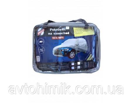 Milex Тент автомобільний JEEP PEVA+PP Cotton XL ( сірий+зеркало+замок) (шт.) 99164