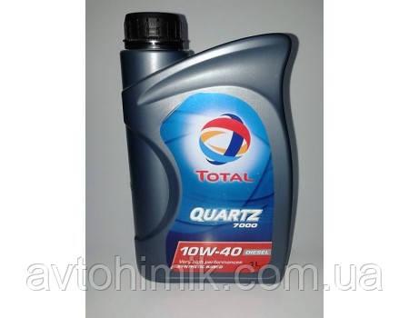 TOTAL QUARTZ Diesel 7000 10w-40 1л