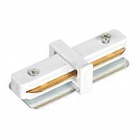 Коннектор прямой Feron LD1000 белый