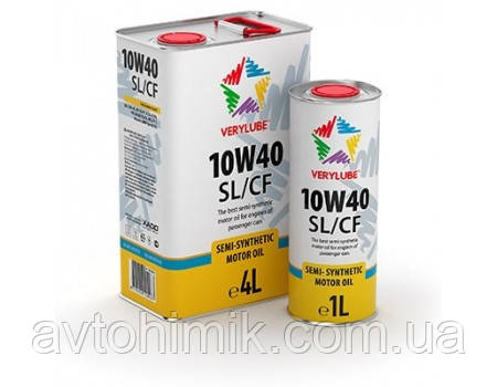 Verylube 10W-40 SL/CF, 1л ХВ20168