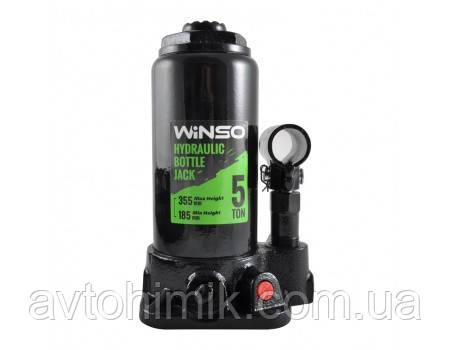 WINSO Домкрат телескопный 5т в футляре 185000