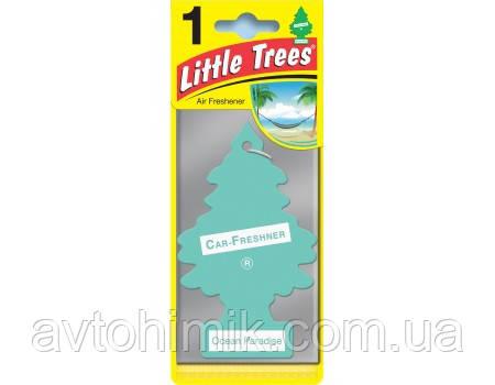 Ароматизатор воздуха ЁЛОЧКА Океанический рай Little Trees 5 гр