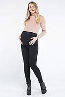 Леггинсы для беременных из итальянской джерси черные