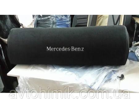 Органайзер в багажник Mercedes, черный большой