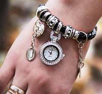 Часы-браслет в стиле Pandora Пандора высокое качество, фото 1