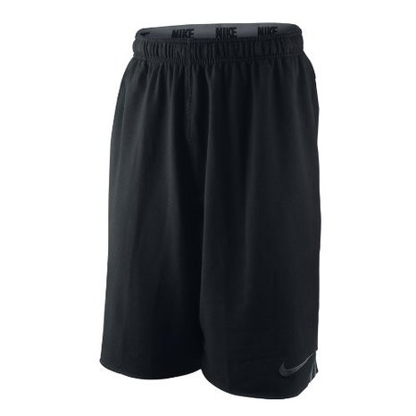 Шорты Nike Mens Max Cotton Shorts Black/Grey 409309 010, фото 1