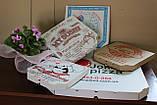 Картонная упаковка для пиццы 300х300х30 мм, фото 4