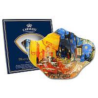 41080cd0c8df69 Подставка под чайный пакетик Ван Гог «Ночная терраса кафе», 14х10 см 198-