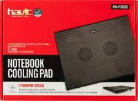 """Подставка под ноутбук 14-16"""" Havit Cooler Pad HV-F2025, Black, USB"""
