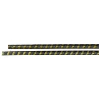 Вал приводной гибкий для мотокосы посадка квадрат диаметр 6 мм, L - 680 мм