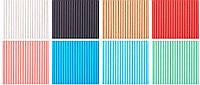 Трубочка бумажная одноцветная 1000 штук