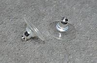 Заглушки для сережек. гипоалергенные