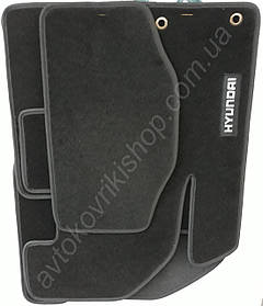 Ворсовые коврики Hyundai Accent IV (RB) 2011- CIAC GRAN
