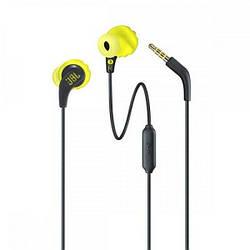 Навушники вакуумні дротові з мікрофоном JBL Endurance RUN Yellow ENDURRUNBNL