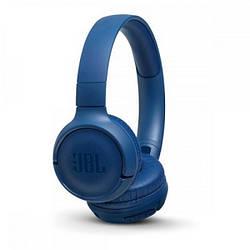 Накладні навушники безпровідні з мікрофоном JBL T500 BT Blue (JBLT500BTBLU)
