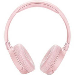 Накладні навушники безпровідні з мікрофоном JBL T600BT Pink