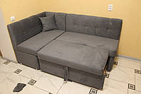 Мягкий уголок со спальным местом по размрам кухни (Ткань Анфора), фото 1