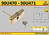 Цилиндр для замка 62мм(31/31), 6 ключей,  TOPEX  90U471