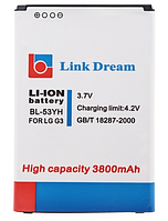 Усиленный аккумулятор   LG G3 / D855  BL-53YH