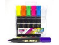 Набор текст-маркеров, 6 цв., Арт. OR-526-6, Rainbow, Имп