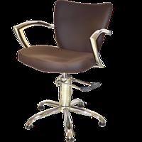 Кресло парикмахерское 6002 коричневое