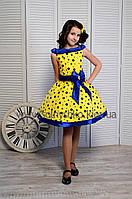 Нарядное платье для девочки Стиляги-009