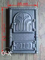 Дверь спарка чугун (румынская)34.5см-51.5см