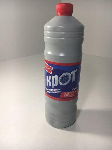 Средство для чистки труб   Крот Днепр  1 л (1 шт)