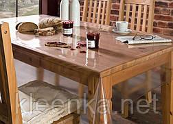 Прозрачное покрытие для кухонных столов и другой мебели, прозоре покриття, м'яке скло, фото 2