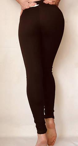 Женские лосины (норма) № 71 коричневій, фото 2