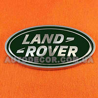 Эмблема Land Rover 92х49 мм зеленая