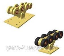 Металлические ролики для откатных ворот до 400кг