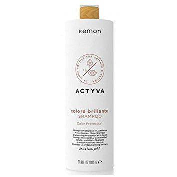 Шампунь для окрашенных волос Kemon Actyva Colore Brillante Shampoo 1000 мл., фото 2